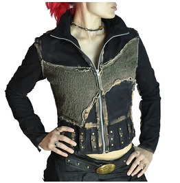 Mad Max Apocalyptic Steampunk Mesh Jacket