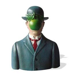 Memag01 Myth Son Of Man Wearing Bowler Hat Magritte.