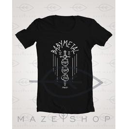Baby Metal Mmxi T Shirt The Gazette One Ok Rock Sakura Gakuin Polkadot Sting