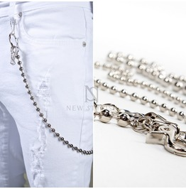 Metal Beads Wallet Chain 43