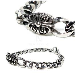 Celtic Cross Engraved Surgical Steel Bracelet 94