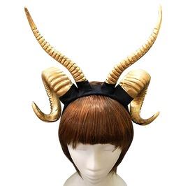 Cosplay Ram Antler Headband