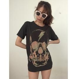 Skull Gothic Punk Rock Goth Gothic T Shirt M