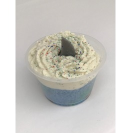 Shark Fin Bath Bomb Cup Cake Halloween Party