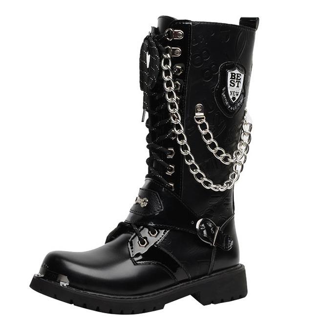 Shopping \u003e mens black rocker boots, Up