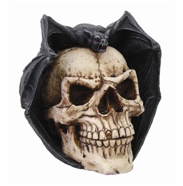 Me8462 Myth Skull W/ Bat Wings