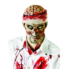 Zombie Brain Costume Headpiece