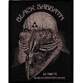 Black Sabbath Us Tour 78 Patch 7.5cm X 10cm
