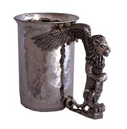 Meh160 Myth Winged Lion Stein.