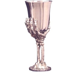 Mei037 Myth Skeleton Bone Hand Held Goblet.