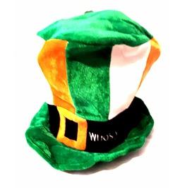 New Irish Vintage Fancy Dress Leprachaun Green Orange White Leprachaun Hat