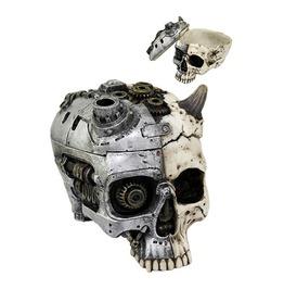 Me10451 Myth Steampunk Skull