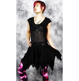 Lip Service Haunting Fairy Gothic Lolita Chiffon Dress