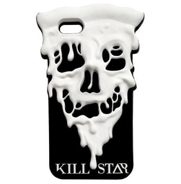 Killstar Eat Fast Skull Pizza Shaped I Phone Cover 6 / 6 S Goth K.Mis.U.1923
