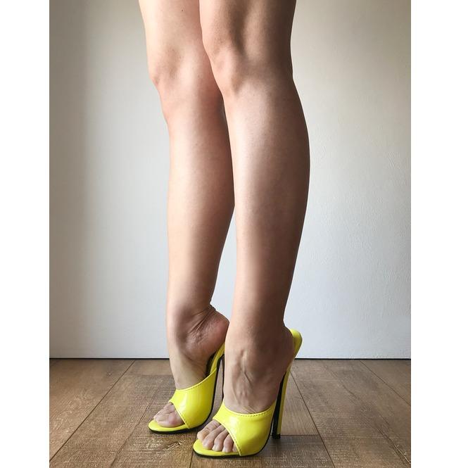 2d0524dc4a2 18 Mule Sexy Mistress Heel Stiletto Fetish Slipper