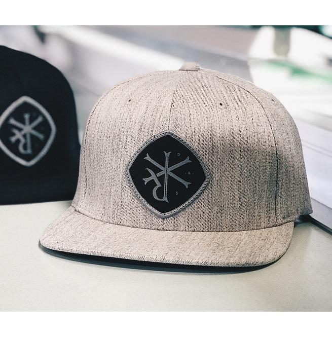 165356c8fc8 Grey  signet  Flexfit Hat By Republak Apparel (Upside