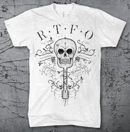 Rtfo® Music Is Eternal (Guitar Skull)