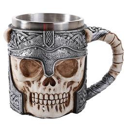 Me11555 Myth Warrior Skull Mug