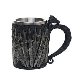 Me11710 Myth Dragon Swords Mug