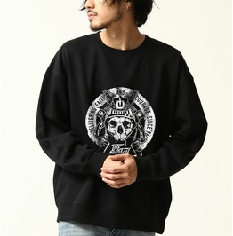 Skull Army Samurai Sweatshirt Steam Punk Cool Trasher