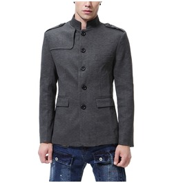 Men's Comfortable Leisure Chinese Tunic Suit Jacket