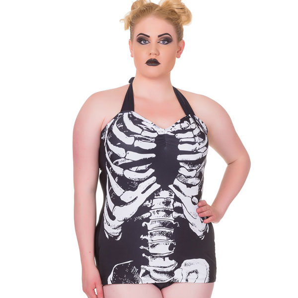 Skull Swimsuits & Swimwear on sale at RebelsMarket!