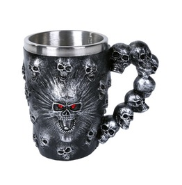 Me11829 Myth Spirit Skull Mug.