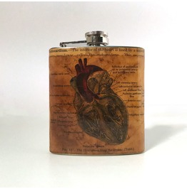 Vintage Anatomy Dark Heart