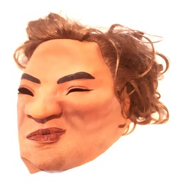 Awesome! New Vintage Latex Rubber Realistic Man Mask With Fair Hair