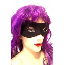 New Vintage Renaissance Eye Catching Elasticated Black Eye Mask