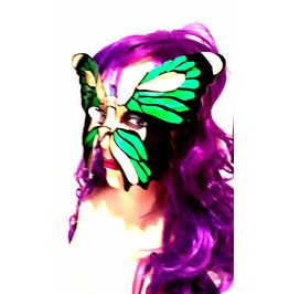 New Vintage Renaissance Eye Catching Elasticated Butterfly Face Mask