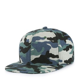 Unisex's Blue Camouflage Printed Baseball Cap Outdoor Hat Cap