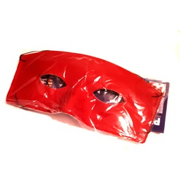 New Vintage Renaissance Eye Catching Elasticated Scarlet Red Square Mask