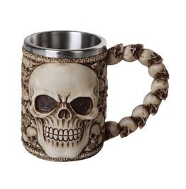 Me12309 Myth Ossuary Skull Mug. Product Size: