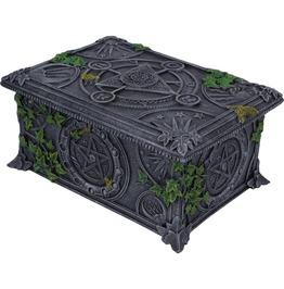 Me12339 Myth Wiccan Pentagram Tarot Box.