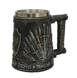Me12900 Myth Dragon Swords Tankard 12 Oz.