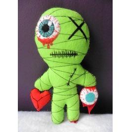 Zombie Mummy Voodoo Doll, Freak, Blood, Halloween, Horror, Gothic, Dead