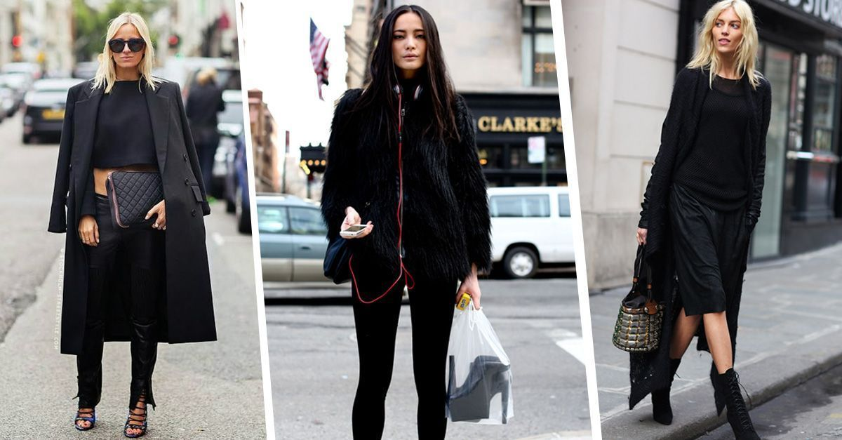 How to wear all black without losing your personal style