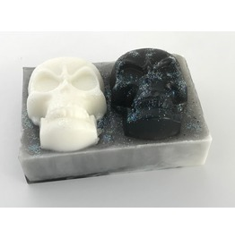 Two Skulls Glycerine Soap Color Choices