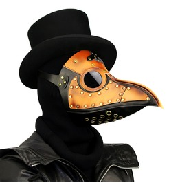 Steampunk Gothic Retro Plague Beak Doctor Bird Mask Halloween Christmas