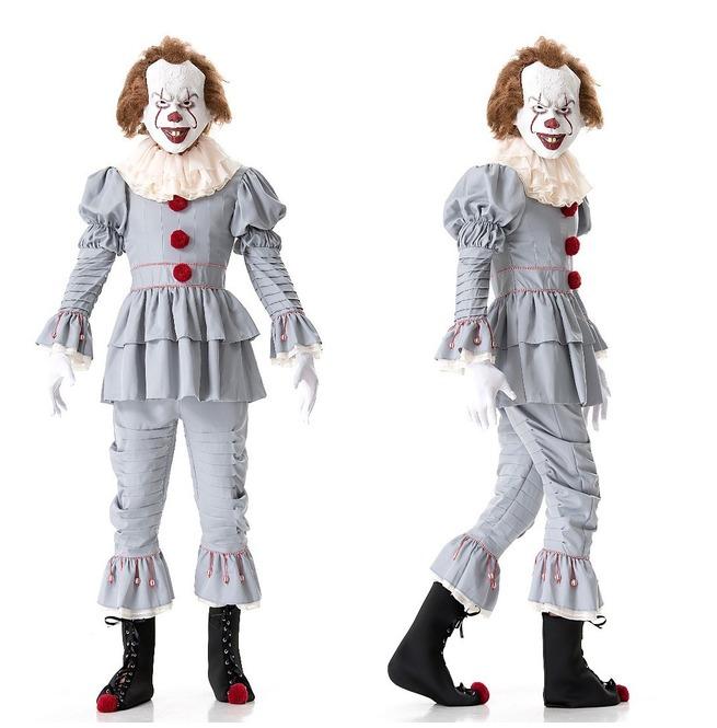 Stephen King S It Pennywise Terror Clown Costume Rebelsmarket