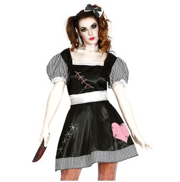 Porcelain Doll Halloween Costume Harajuku Lolita Dress Women's