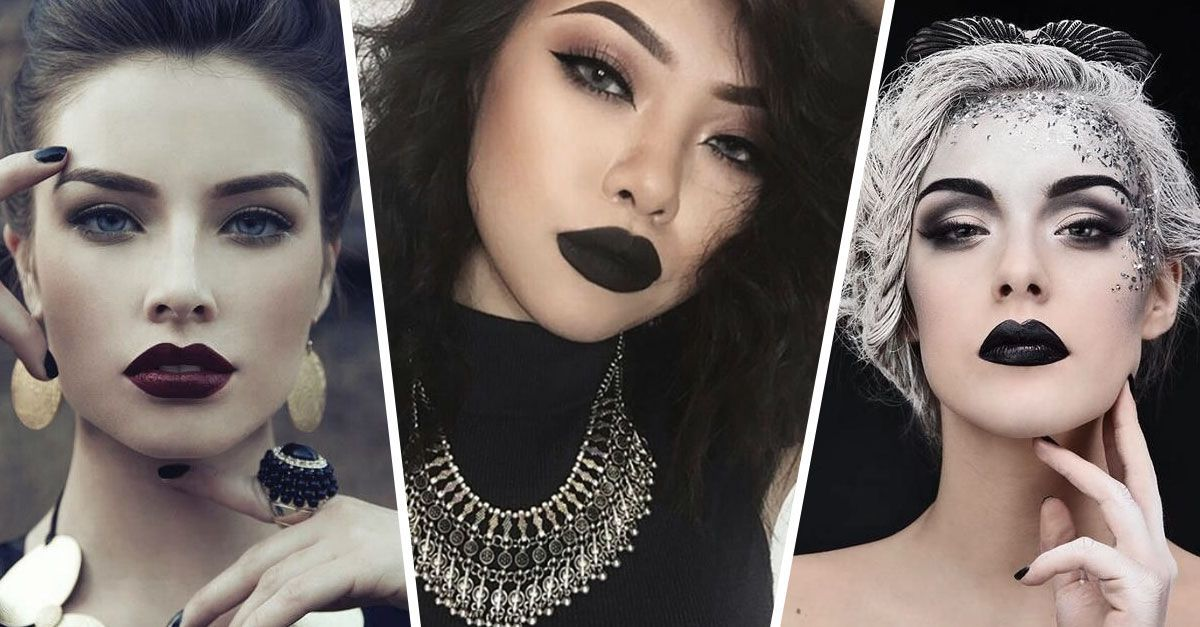 How to Wear Black Lipstick & Look Like A Total Badass