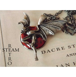 Creatures Night Gothic Necklace Steamretro