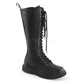 """1 1/4"""" Heel, 20 Eyelet, Women's Vegan Combat Boot"""