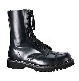 Demonia Gothic Military Er Heavy Metal Buffalo Soldier Combat B Oots