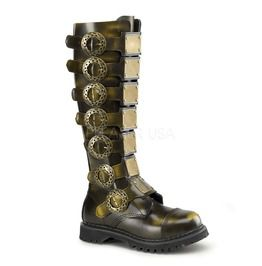 Strap It Brown Steampunk Boots