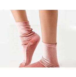 Shinny Elastic Long Socks Winter Womens Accessories
