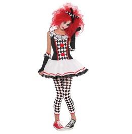Harley Quinn Honey Joker Clown Costume