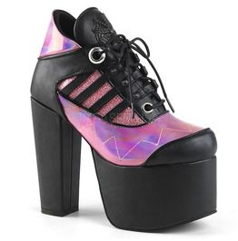 """5 1/2"""" Heel,3"""" Pf Lace Up Ankle Bootie"""